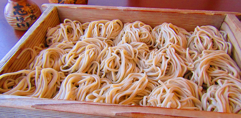 Soba noodles all you can eat